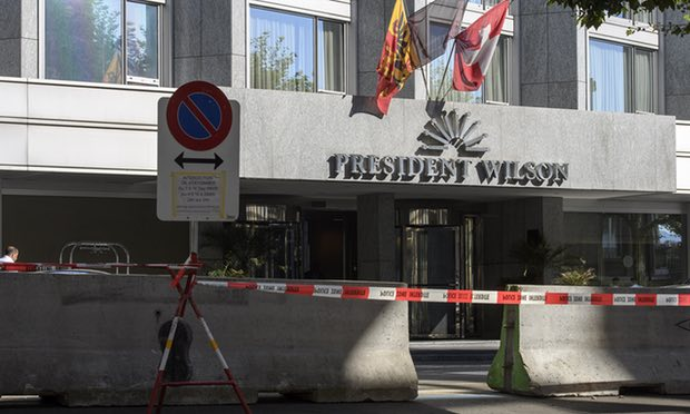 Bugging devices found at Iran nuclear talks hotel, say Swiss officials
