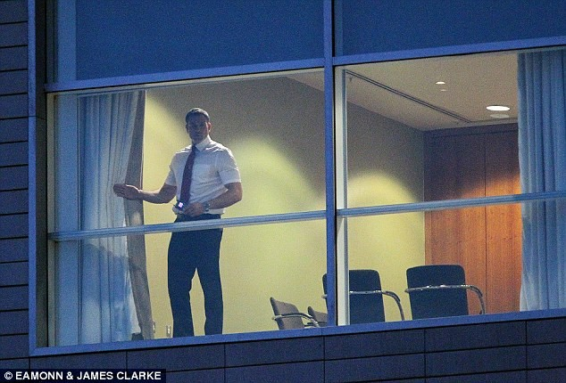 Manchester United security staff scan team hotel for listening devices to stop details of Louis van Gaal's team talks getting out