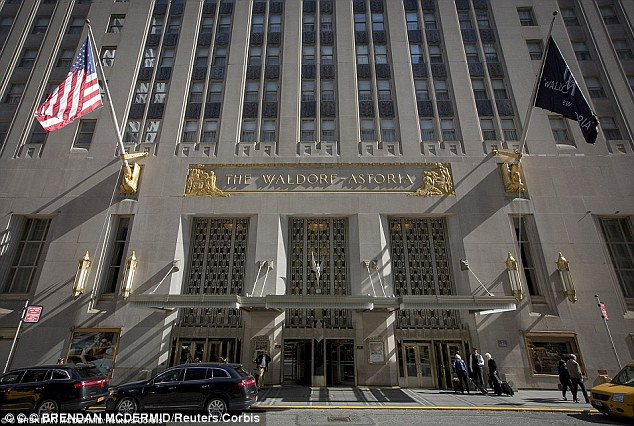 Obama snubs the Waldorf Astoria for his NYC visit amid fears the hotel is bugged by the Chinese, breaking a presidential tradition started when Hoover was in the White House