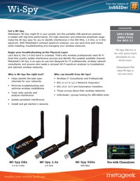 Wi-Spy DBx & Chanalyzer Pro